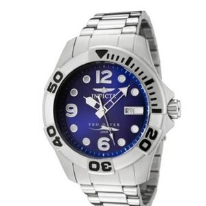 Invicta Pro Diver Blue Dial Stainless Watch 0443